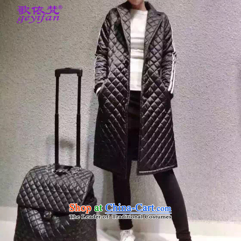 According to the 2015 Europe Song Van Gogh stylish european large site licensing feather cotton coat spot White燤