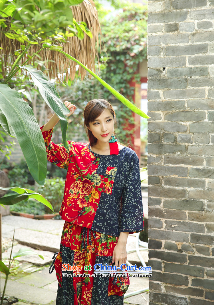 Ethnic Women 2015 autumn and winter new ethnic stamp leisure life lift + T-shirt trousers down kit FZ559 blackM picture, prices, brand platters! The elections are supplied in the national character of distribution, so action, buy now enjoy more preferential! As soon as possible.