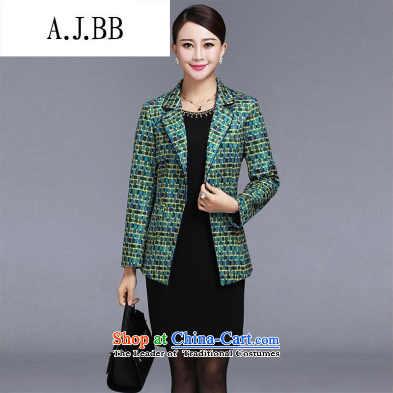 Memnarch 琊 Connie shop for winter new middle-aged mother with graceful and elegant long-sleeved two kits dresses Blue M