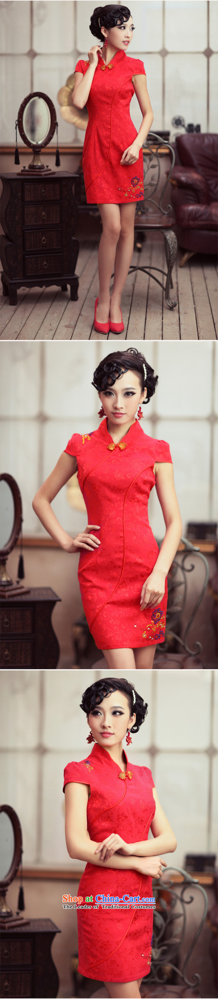 Love of birds marriages qipao stylish booking drill red improved cheongsam dress聽QD190聽RED聽XL Photo, prices, brand platters! The elections are supplied in the national character of distribution, so action, buy now enjoy more preferential! As soon as possible.