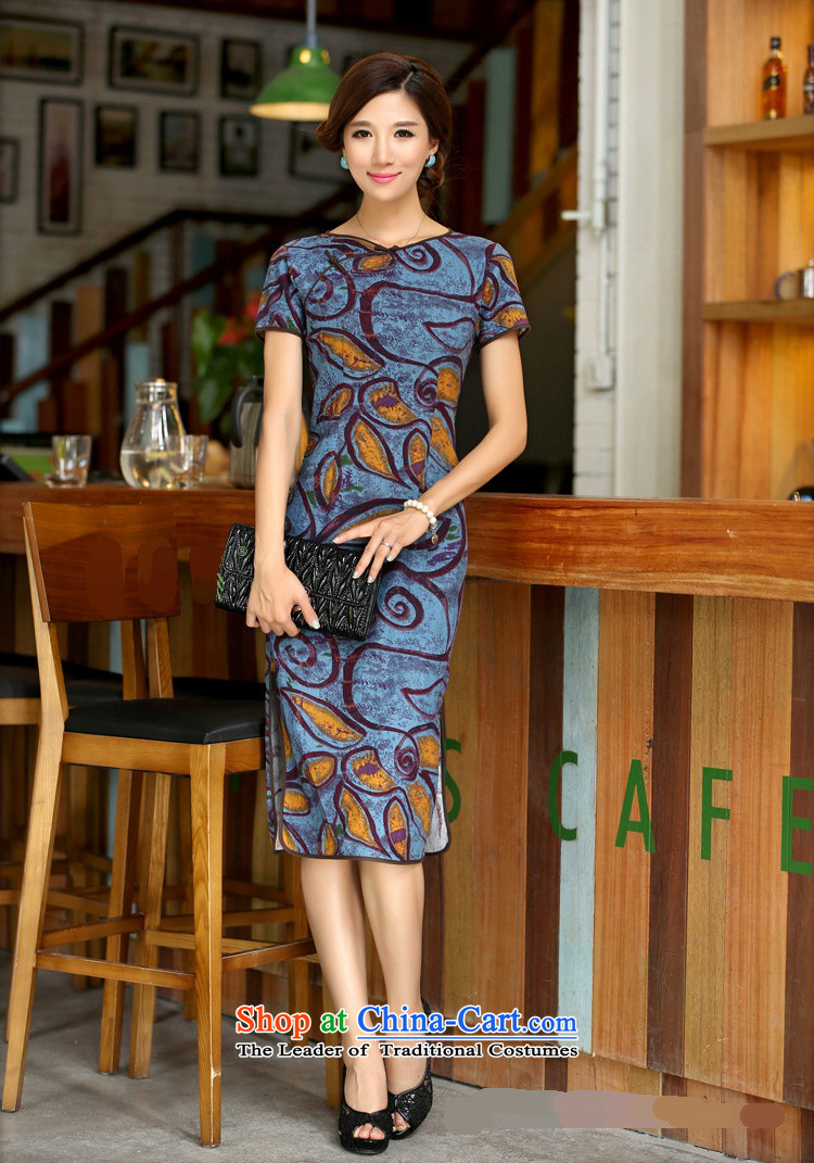 Darth their new spring and summer 2015 for women national long neck tie improved stylish Sau San manually linen dresses qipao CCI139 figure XL Photo, prices, brand platters! The elections are supplied in the national character of distribution, so action, buy now enjoy more preferential! As soon as possible.