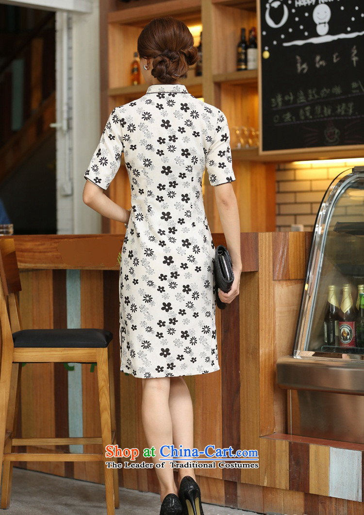 Darth their2015 Spring/Summer female China wind cotton linen collar manually deduction cherry blossoms in long dresses qipaoCJZ396figureS picture, prices, brand platters! The elections are supplied in the national character of distribution, so action, buy now enjoy more preferential! As soon as possible.