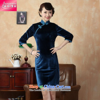 In accordance with the Love l Stretch Wool poster stylish Kim in classic short-sleeved qipao LGD/TD0003# Tang dynasty picture color pictures, prices, XL brand platters! The elections are supplied in the national character of distribution, so action, buy now enjoy more preferential! As soon as possible.
