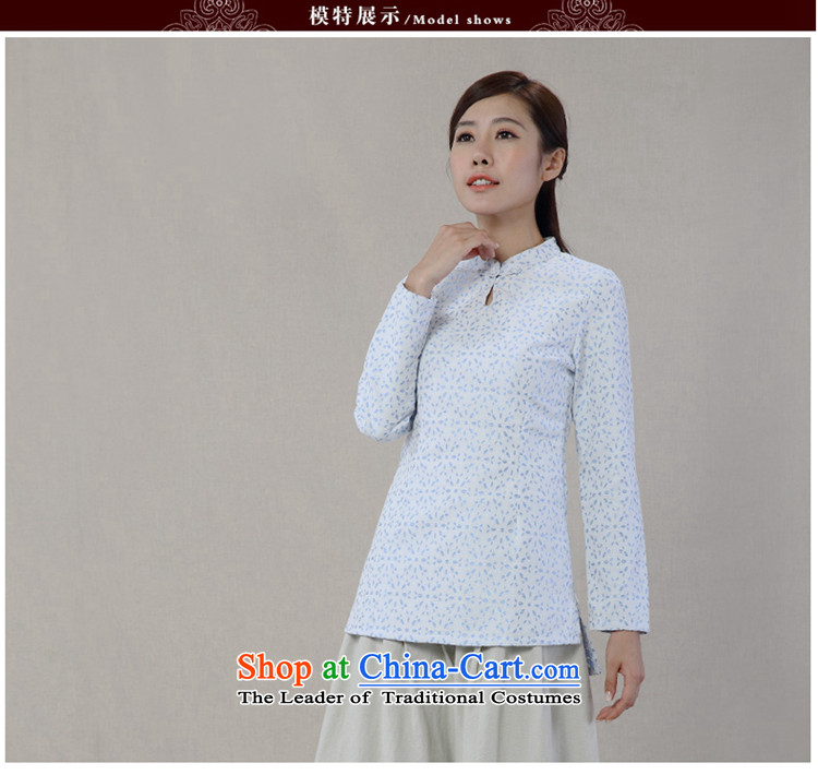 No. of Ramadan 2014 Autumn Load Tang new cotton linen collar tray clip saika long-sleeved improved Han-Tang Dynasty White XL Photo, prices, brand platters! The elections are supplied in the national character of distribution, so action, buy now enjoy more preferential! As soon as possible.