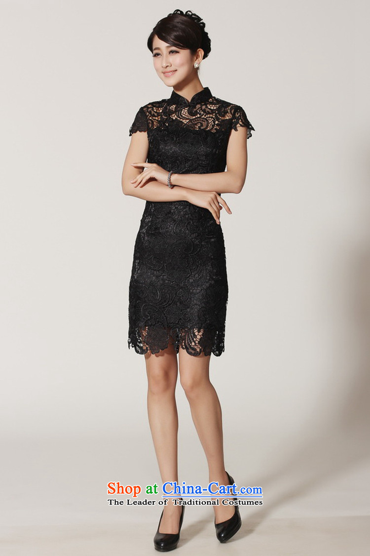 In accordance with the Love l summer trendy new products is pressed to collar Sau San lace cheongsam dressWNS/2365#REDS picture, prices, brand platters! The elections are supplied in the national character of distribution, so action, buy now enjoy more preferential! As soon as possible.