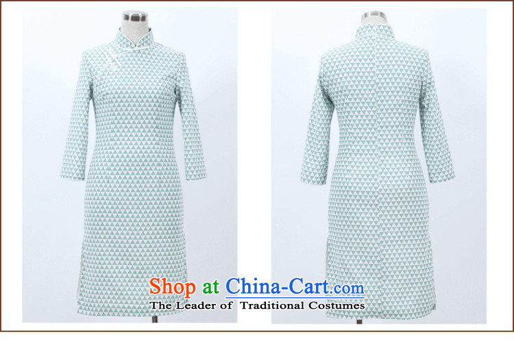 The Butterfly Lovers autumn 2015 new for women improved stylish cheongsam dress daily Sau San cotton linen cheongsam dress 47014 figure M picture, prices, brand platters! The elections are supplied in the national character of distribution, so action, buy now enjoy more preferential! As soon as possible.
