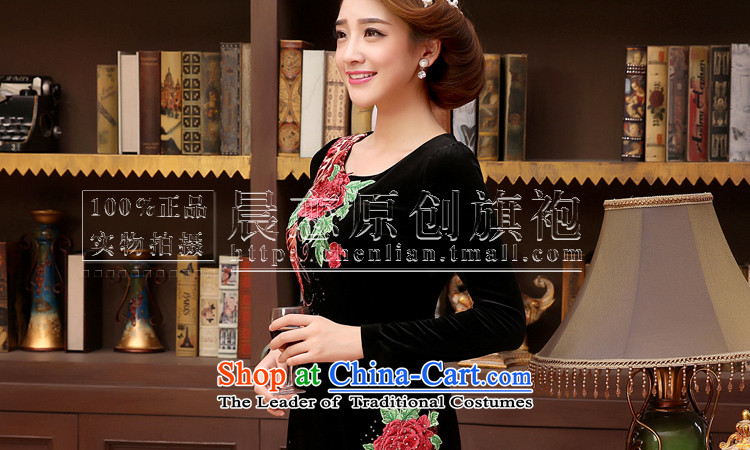 The 2014 autumn morning land in the new elderly women who are in the velvet cuff mother large load female black聽L picture, prices, brand platters! The elections are supplied in the national character of distribution, so action, buy now enjoy more preferential! As soon as possible.