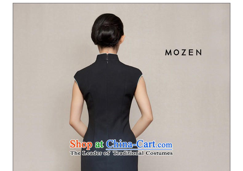 Wooden spring of 2015 really new short of Qipao Sau San video thin winter dresses 32616 01 Black聽M picture, prices, brand platters! The elections are supplied in the national character of distribution, so action, buy now enjoy more preferential! As soon as possible.