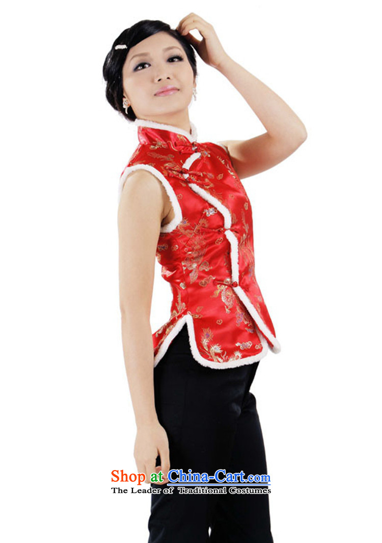 Can Green, older women's autumn and winter trendy new products collar embroidered with cotton Tang dynasty mother vest聽0003# 2XL Photo, prices, brand platters! The elections are supplied in the national character of distribution, so action, buy now enjoy more preferential! As soon as possible.