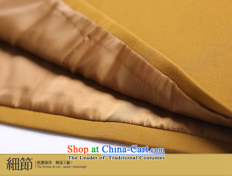 【 mustard original hired as soon as possible the new Chinese Jade Manually/Clip, a Tang dynasty China wind female autumn and winter new products turmeric yellowS spot/limited number of pictures, prices, brand platters! The elections are supplied in the national character of distribution, so action, buy now enjoy more preferential! As soon as possible.