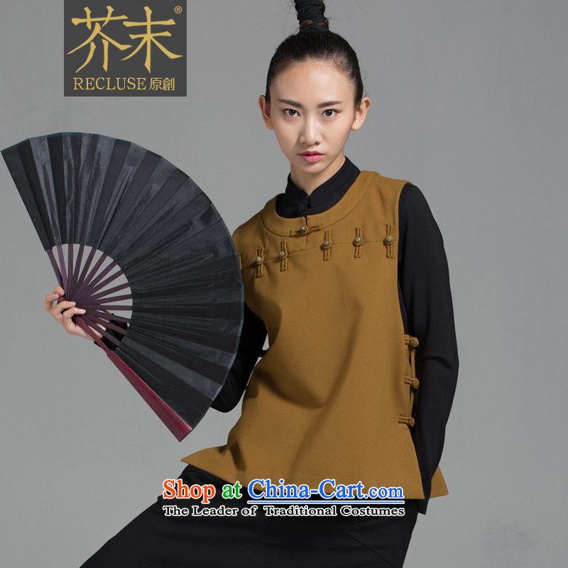 �� mustard original hired as soon as possible the new Chinese Jade Manually_Clip, a Tang dynasty China wind female autumn and winter new products turmeric yellow?S spot_Limited Number
