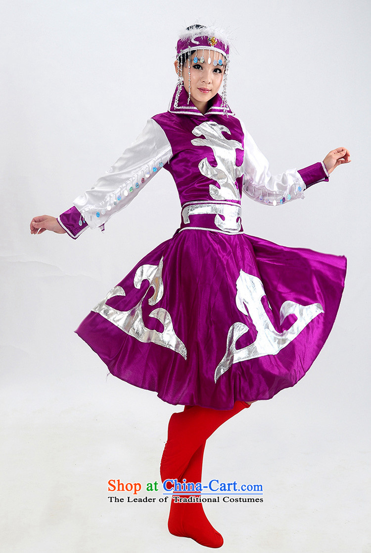 Arts dreams minority clothing fashions Mongolian costumes Female dress robe stage costumes dance HXYM-0022 Mongolia purple XXL picture, prices, brand platters! The elections are supplied in the national character of distribution, so action, buy now enjoy more preferential! As soon as possible.