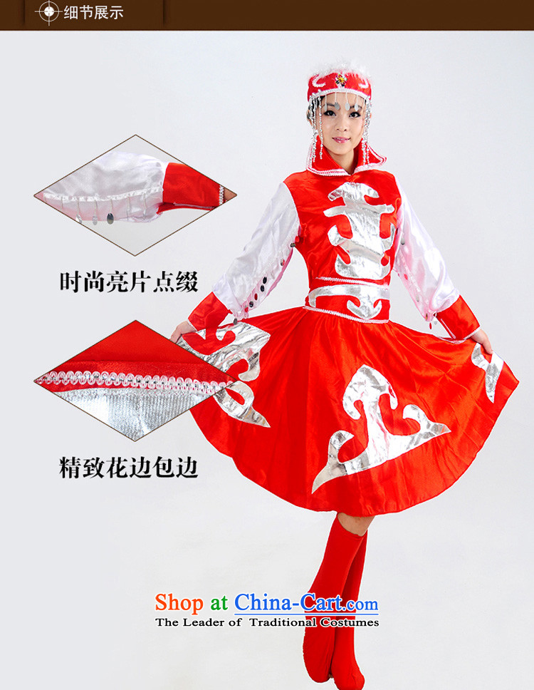 I should be grateful if you would have this minority clothing incense arts Mongolian dress costumes Female dress robe stage costumes dance performances to mongolia HXYM0022 red 140 pictures, prices, brand platters! The elections are supplied in the national character of distribution, so action, buy now enjoy more preferential! As soon as possible.