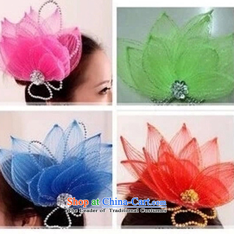 Dance performances and ornaments headdress stage services hair accessories services and spend fine dance hair accessories show Head Ornaments single shot does not ship pink are code