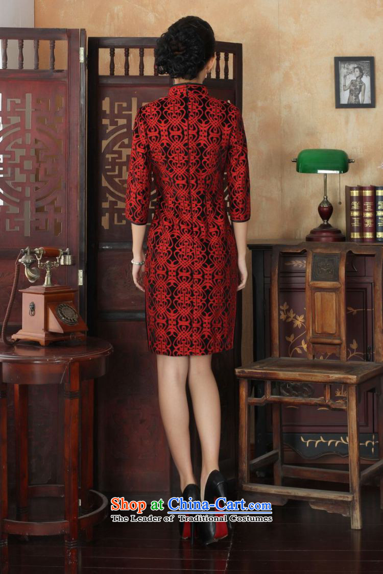 158 Jing Chinese improved cheongsam dress long skirt Superior elasticity lace cheongsam dress Kim scouring pads Sau San 7 Cuff聽TD0024 map color聽L picture, prices, brand platters! The elections are supplied in the national character of distribution, so action, buy now enjoy more preferential! As soon as possible.