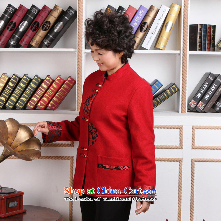 Shanghai, optimization options for older women Tang dynasty winter coats blouses Mock-neck Tang dynasty women wool? Tang Dynasty聽- 1 red jacket聽3XL picture, prices, brand platters! The elections are supplied in the national character of distribution, so action, buy now enjoy more preferential! As soon as possible.