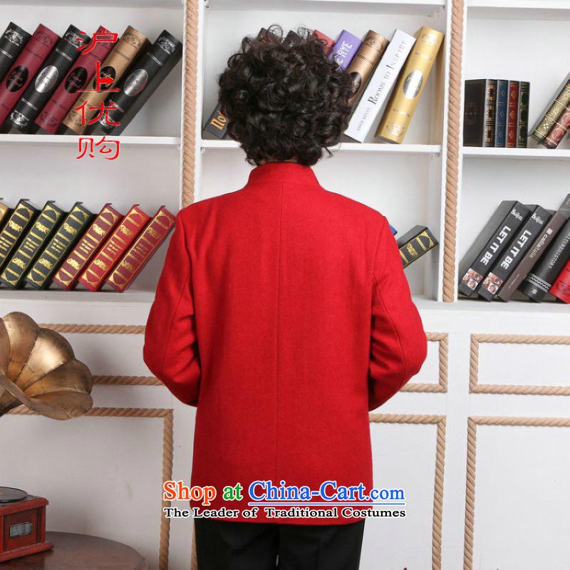 Shanghai, optimization options for older women Tang dynasty winter coats blouses Mock-neck Tang dynasty women wool? Tang Dynasty聽- 1 red jacket聽3XL, Shanghai, optimizing options , , , shopping on the Internet