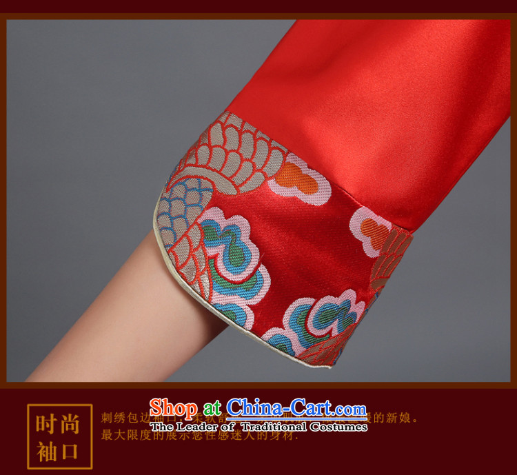 The Republika Srpska divas qipao bows services fall 2015 stylish red bride long qipao bows services serving the marriage of Chinese bride bows bows service聽M Chinese qipao retro QIPAO) Picture, prices, brand platters! The elections are supplied in the national character of distribution, so action, buy now enjoy more preferential! As soon as possible.