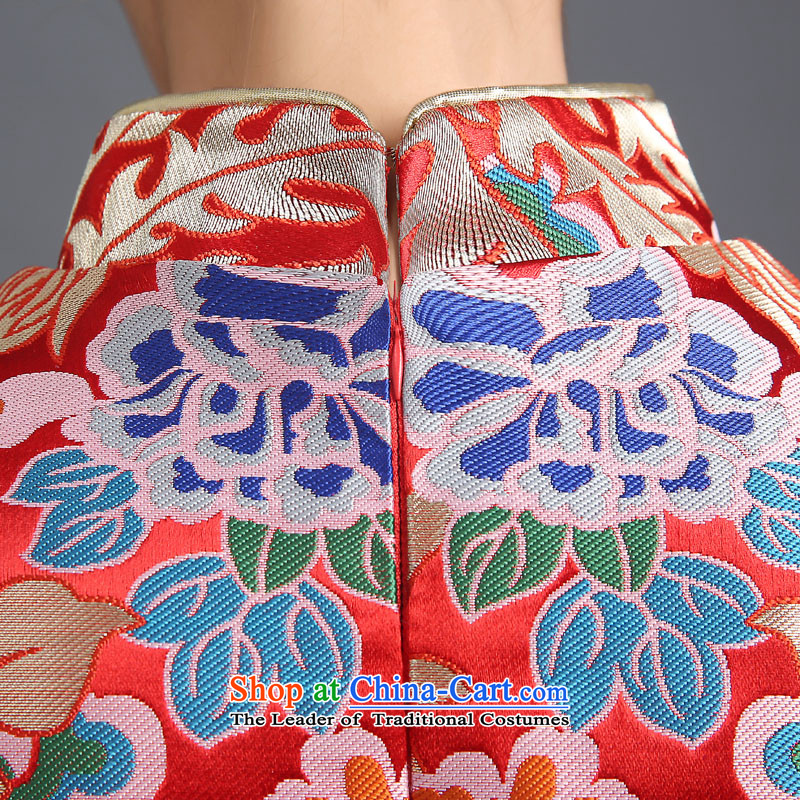 The Republika Srpska divas qipao bows services fall 2015 stylish red bride long qipao bows services serving the marriage of Chinese bride bows bows service聽M CHINESE CHEONGSAM QIPAO) Republika Srpska retro divas (pnessa) , , , shopping on the Internet