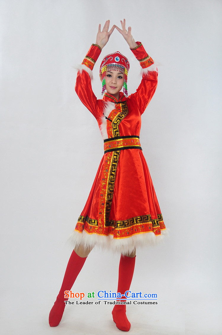 Double-122014 genuine new Mongolia will unveil Mongolian folk dances of women of ethnic minorities costumes dance HXYM-0028 services red S picture, prices, brand platters! The elections are supplied in the national character of distribution, so action, buy now enjoy more preferential! As soon as possible.