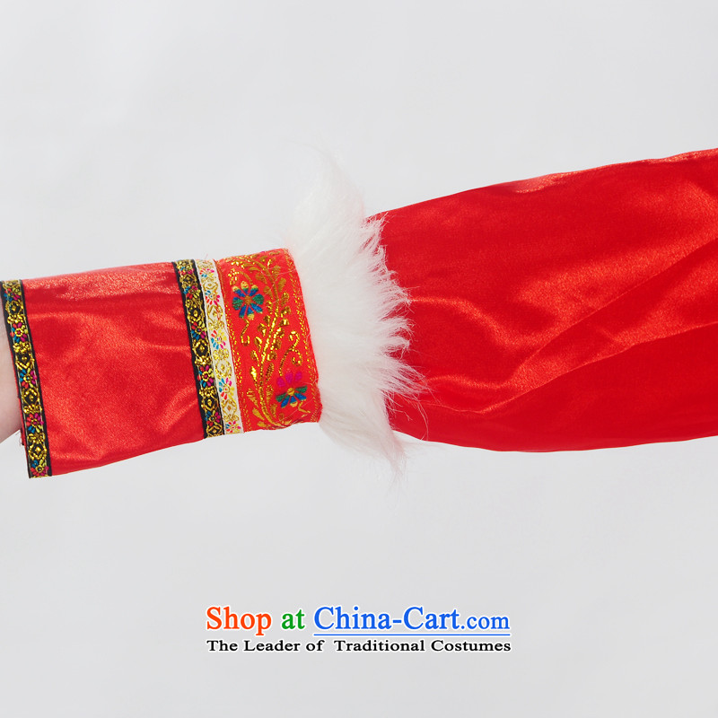 Double-122014 genuine new Mongolia will unveil Mongolian folk dances of women of ethnic minorities costumes dance HXYM-0028 RED S King serve coconut , , , shopping on the Internet