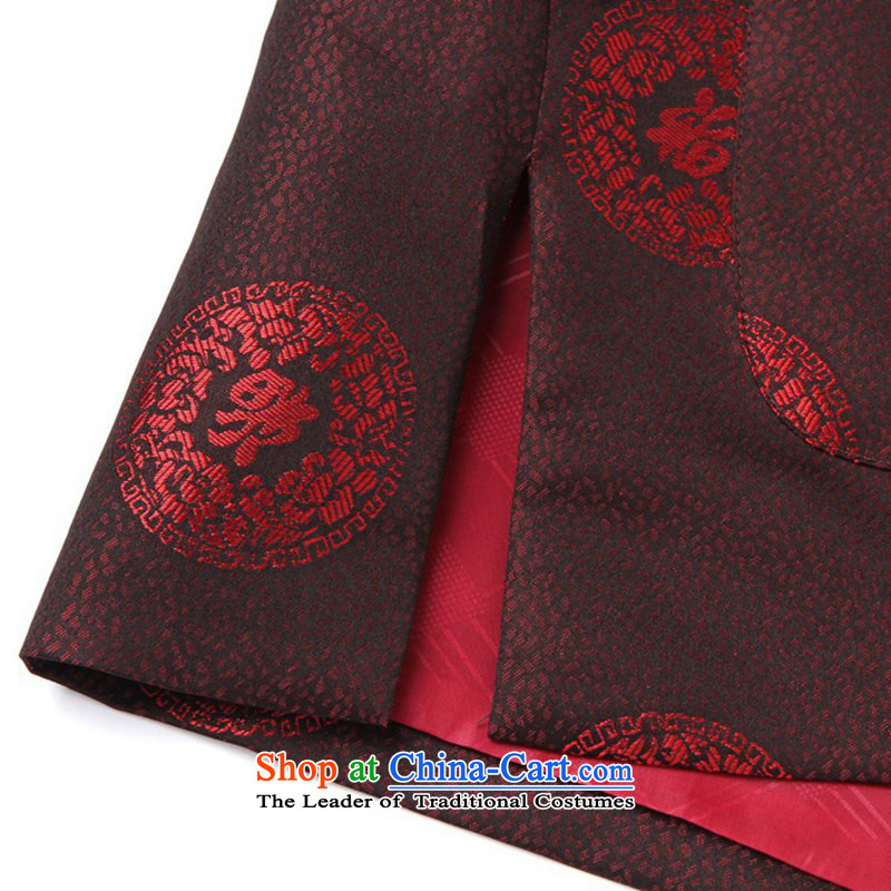 Can Green in older father boxed cotton jacket collar well field embroidery mother Tang dynasty replacing ãþòâ mom and dad couples Tang dynasty ãþòâ made service-2383 - 4 cotton 2XL, father can green, , , , shopping on the Internet