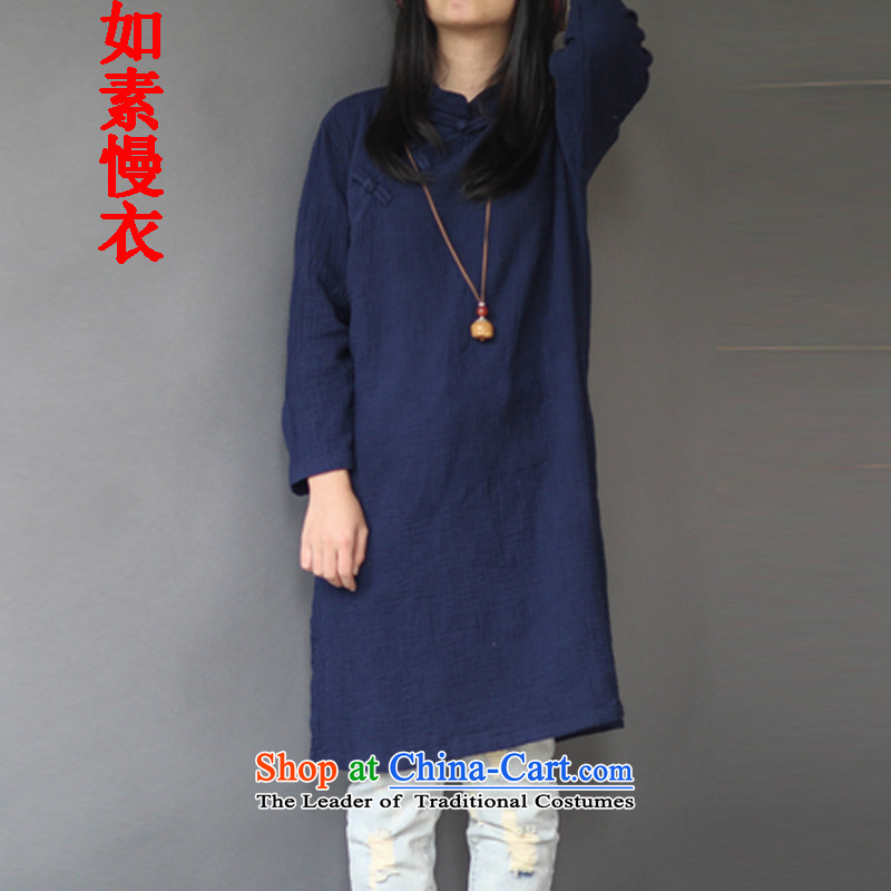 If so slow Yi Chinese literature of the Republic of Korea, Sepia qipao nostalgic wind up the clip is set under the head of flap swing open the forklift truck cheongsam dress 2,433 Navy are code