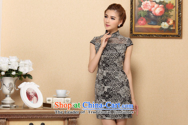 Dan smoke cheongsam dress Chinese improvement of the trendy lace cheongsam dress elegant lace improved banquet qipao skirt Figure聽2XL color pictures, prices, brand platters! The elections are supplied in the national character of distribution, so action, buy now enjoy more preferential! As soon as possible.