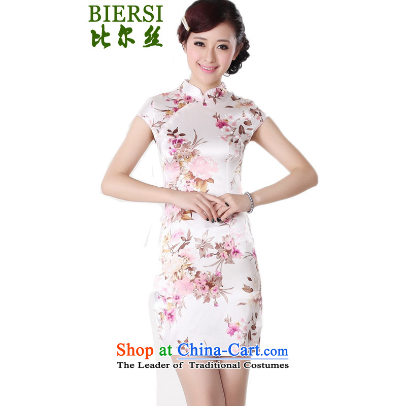 The Bill was the new name of the Serb air Tang dynasty qipao gown is a mock-neck disc detained Stamp   Classic short of qipao figure skirt�M
