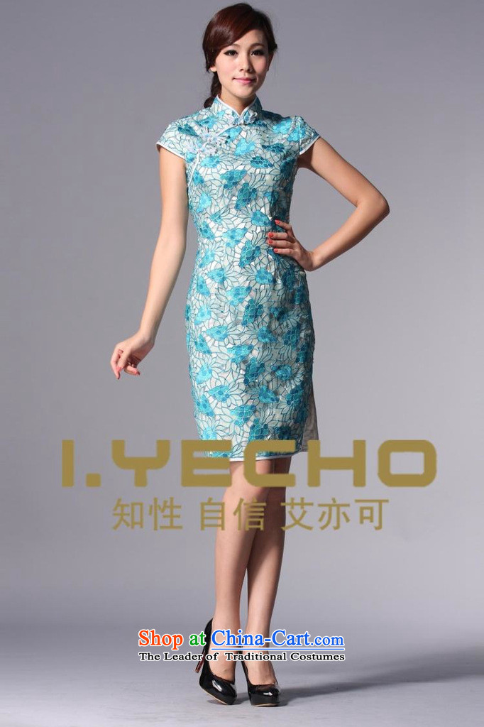 The end of the light (QM) Chinese Antique style qipao improved engraving marriages bows dressXWGQP110-3BlueM picture, prices, brand platters! The elections are supplied in the national character of distribution, so action, buy now enjoy more preferential! As soon as possible.