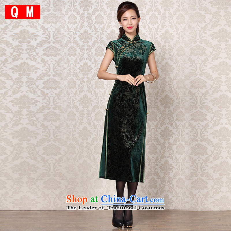 The end of the light (QM) Improvement of stylish and elegant reminiscent of the Banquet�XWGQF13-6098 qipao�picture color�M