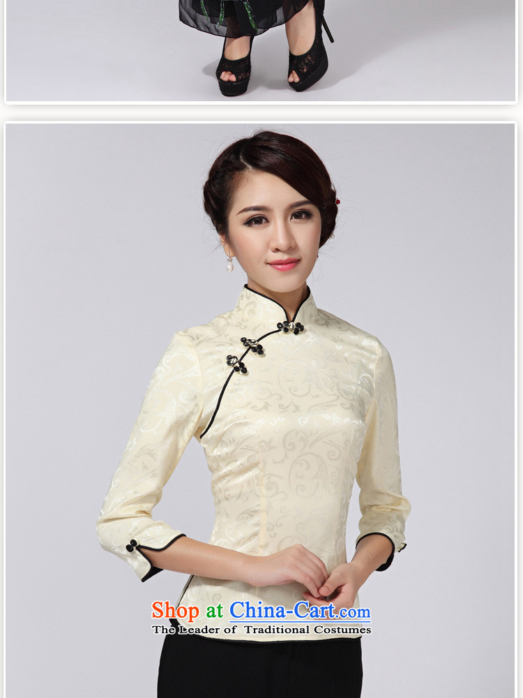 With a聽new 2015 the Chinese Tang dynasty Chinese 7 Stylish retro improved national cuff wind jacket female green聽XL Photo, prices, brand platters! The elections are supplied in the national character of distribution, so action, buy now enjoy more preferential! As soon as possible.