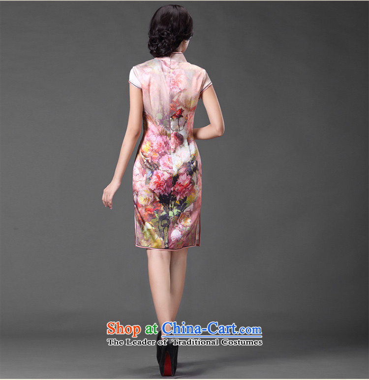 Chinese classic 2015 spring and summer-short of improved herbs extract cheongsam dress Sau San temperament retro heavyweight Silk Cheongsam Suit聽M picture, prices, brand platters! The elections are supplied in the national character of distribution, so action, buy now enjoy more preferential! As soon as possible.