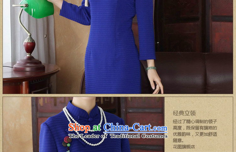 Dan smoke spring new women's dresses collar Chinese cheongsam look like grid improved ramp up Sau San 9 cuff qipao Figure聽2XL color pictures, prices, brand platters! The elections are supplied in the national character of distribution, so action, buy now enjoy more preferential! As soon as possible.