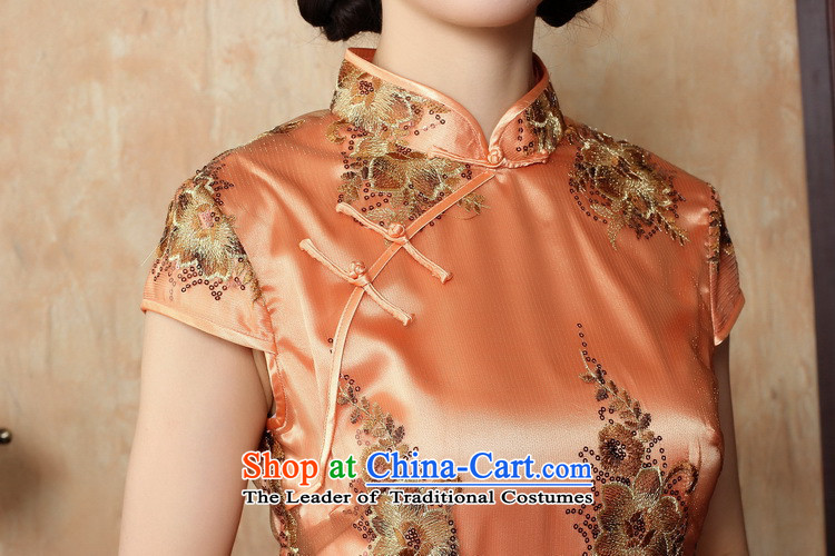 Figure for summer flowers cheongsam dress new Chinese improved collar lace short qipao stylish elegance Sau San cheongsam dress figure colorM brand, prices, picture platters! The elections are supplied in the national character of distribution, so action, buy now enjoy more preferential! As soon as possible.