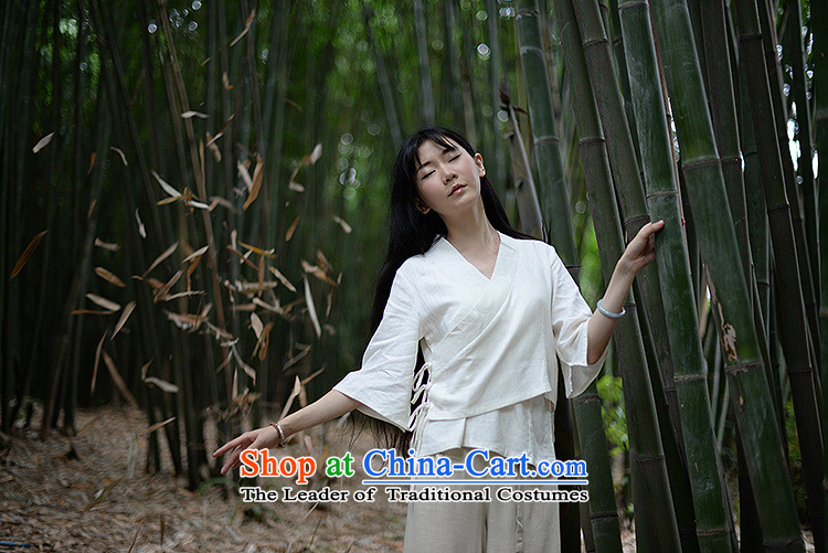 Azzu (azouari) defense of ethnic spring female cotton linen irrepressible short, loose cardigan shirt Han-white shirts are code picture, prices, brand platters! The elections are supplied in the national character of distribution, so action, buy now enjoy more preferential! As soon as possible.