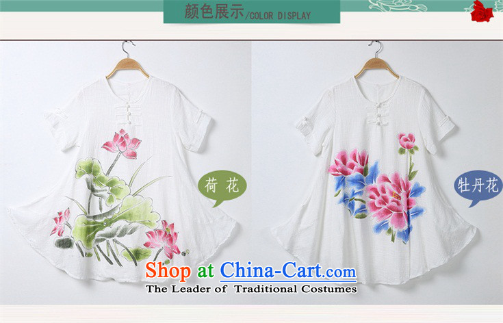 The 2015 summer Yui, in accordance with new's ethnic women's dresses hand-painted cotton collar improved qipao Kit 8123 Lotus kit are code picture, prices, brand platters! The elections are supplied in the national character of distribution, so action, buy now enjoy more preferential! As soon as possible.