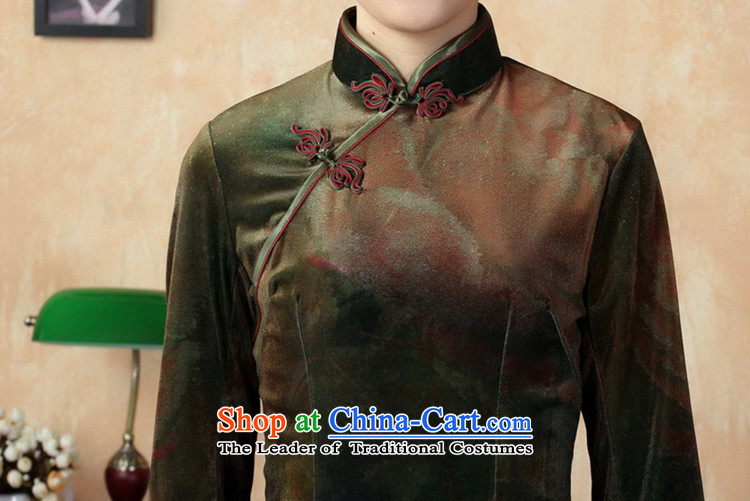 In accordance with the new fuser for women Stretch Wool poster stylish Kim Classic 7 short cheongsam dress cuff Sau San聽LGD/TD0002#聽figure聽M picture, prices, brand platters! The elections are supplied in the national character of distribution, so action, buy now enjoy more preferential! As soon as possible.