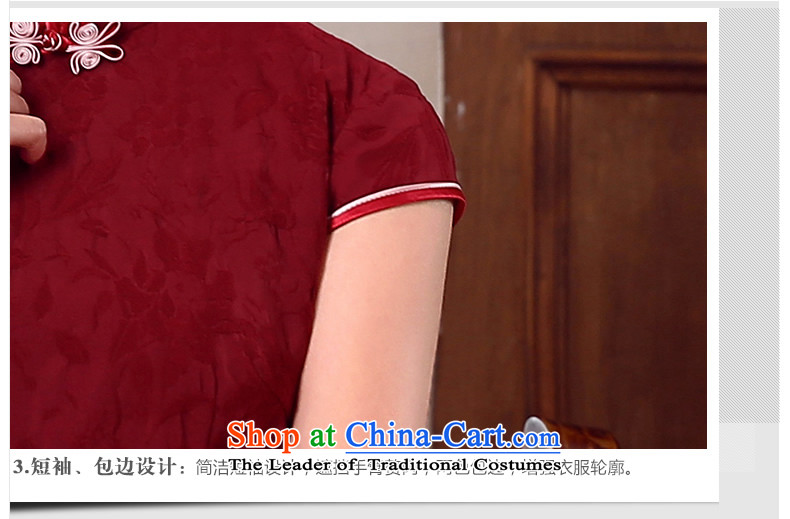 [Sau Kwun Tong] Following 2015 Summer yen Tang Tang dynasty blouses, improved Chinese BLOUSES BOURDEAUX聽XL Photo, prices, brand platters! The elections are supplied in the national character of distribution, so action, buy now enjoy more preferential! As soon as possible.