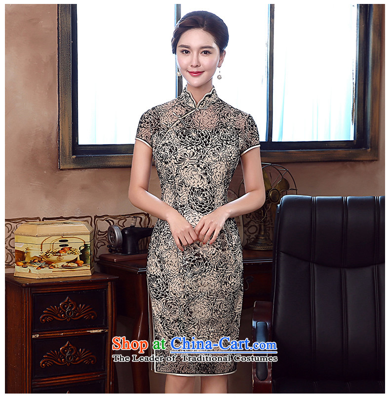 [Sau Kwun Tong] spent summer's 2015 new daily retro qipao improved stylish dresses QD5333 SUIT聽XXL picture, prices, brand platters! The elections are supplied in the national character of distribution, so action, buy now enjoy more preferential! As soon as possible.