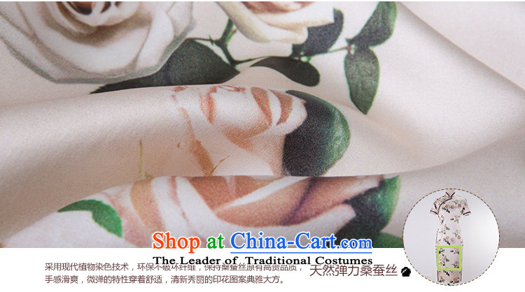 A Pinwheel Without Wind poem was really Yat Silk Cheongsam improved long summer 2015 spring outfits of the Republic of Korea cheongsam dress Daily White聽XL Photo, prices, brand platters! The elections are supplied in the national character of distribution, so action, buy now enjoy more preferential! As soon as possible.
