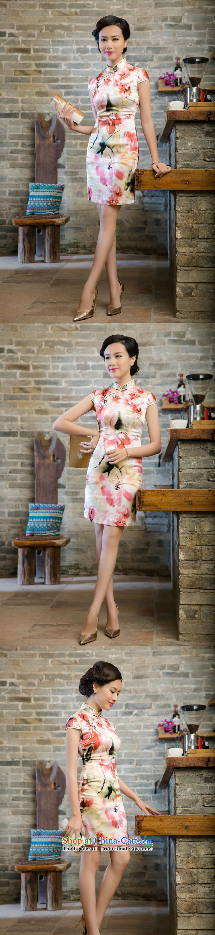 The skirt cheongsam dress suit China wind good style聽JT5080 2015聽RED聽M picture, prices, brand platters! The elections are supplied in the national character of distribution, so action, buy now enjoy more preferential! As soon as possible.