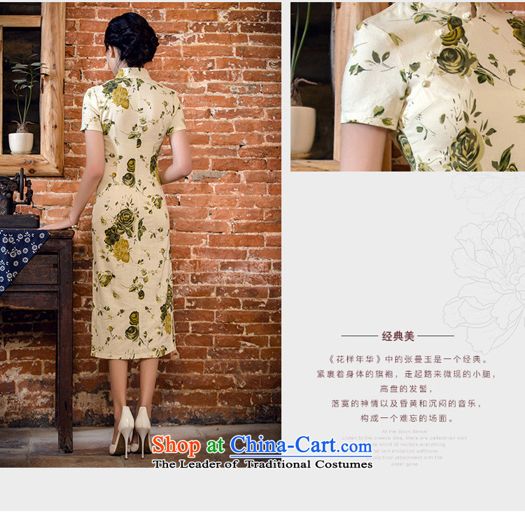 At the end of light skirt cheongsam dress suit China wind woman whenJT2063 2015 StreetnightL picture, prices, brand platters! The elections are supplied in the national character of distribution, so action, buy now enjoy more preferential! As soon as possible.