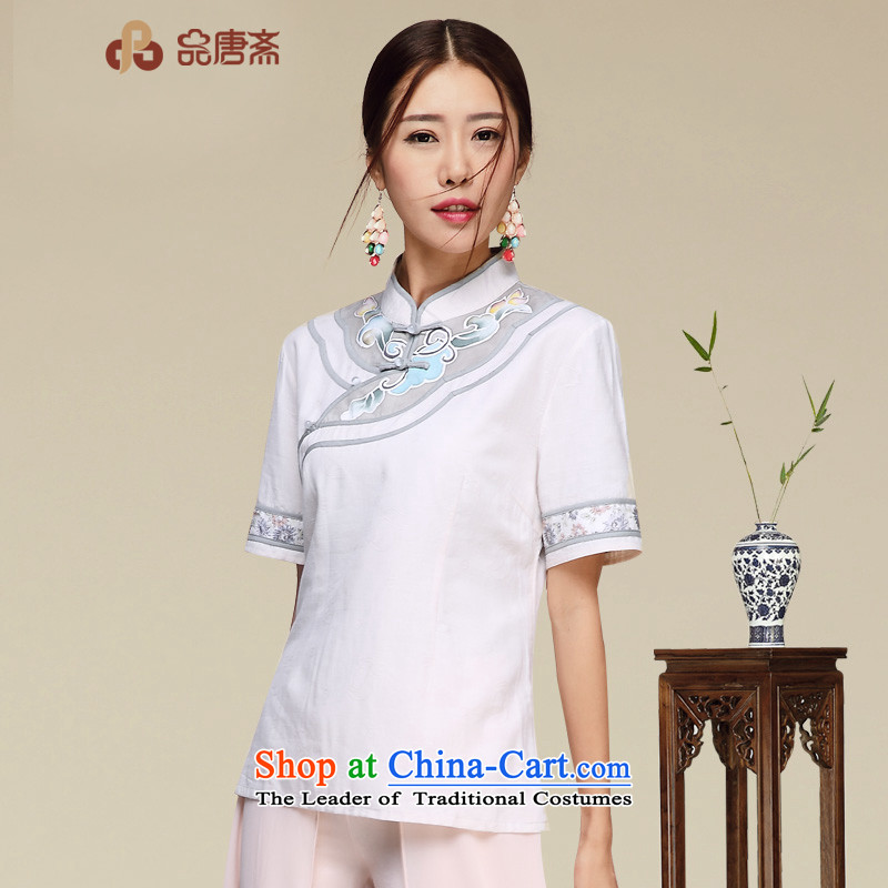 No. of Ramadan qipao improved China Tang wind retro Tang dynasty blouses picture color聽M