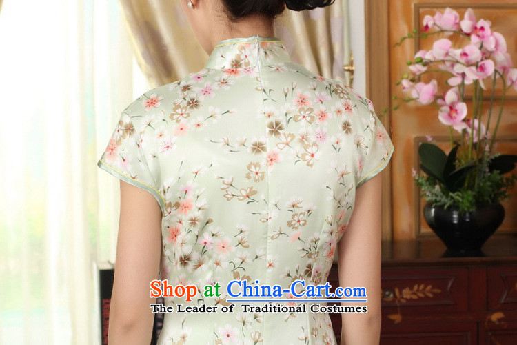 Dan smoke summer female Chinese silk retro herbs extract poster stretch of improved saika Sau San double short qipao figure color聽L picture, prices, brand platters! The elections are supplied in the national character of distribution, so action, buy now enjoy more preferential! As soon as possible.