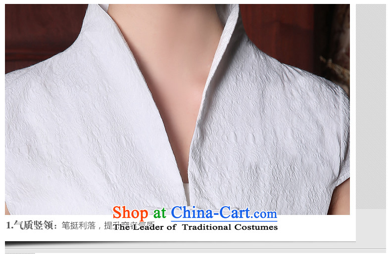 [Sau Kwun Tong] So Ying Summer 2015 Ms. New Tang Dynasty Chinese improved embroidery Tang dynasty blouses White聽XL Photo, prices, brand platters! The elections are supplied in the national character of distribution, so action, buy now enjoy more preferential! As soon as possible.