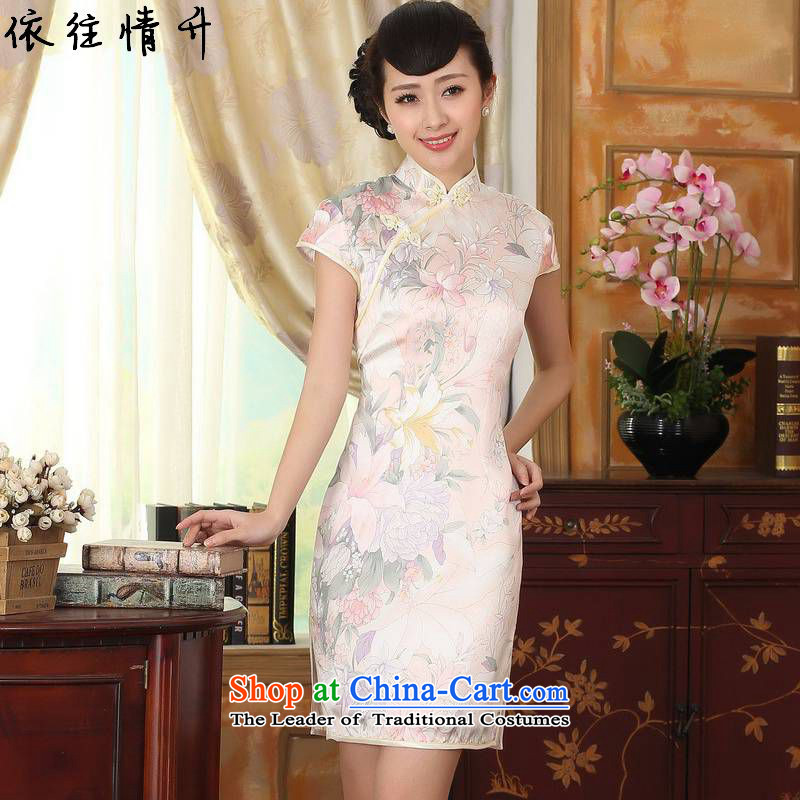 In accordance with the new l love women of ethnic Chinese Tang MOUNTING ANGLED improved pressed to suit short of Sau San Tong replacing cheongsam dress聽LGD_Z0014_聽figure聽XL