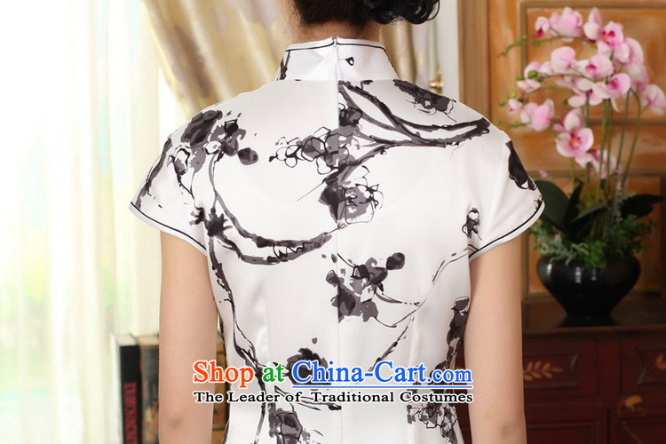 In accordance with the new l love women retro ethnic Tang dynasty Mock-neck Poster Sau San Tong replacing QIPAO) short skirt聽LGD/Z0015#聽figure聽M picture, prices, brand platters! The elections are supplied in the national character of distribution, so action, buy now enjoy more preferential! As soon as possible.