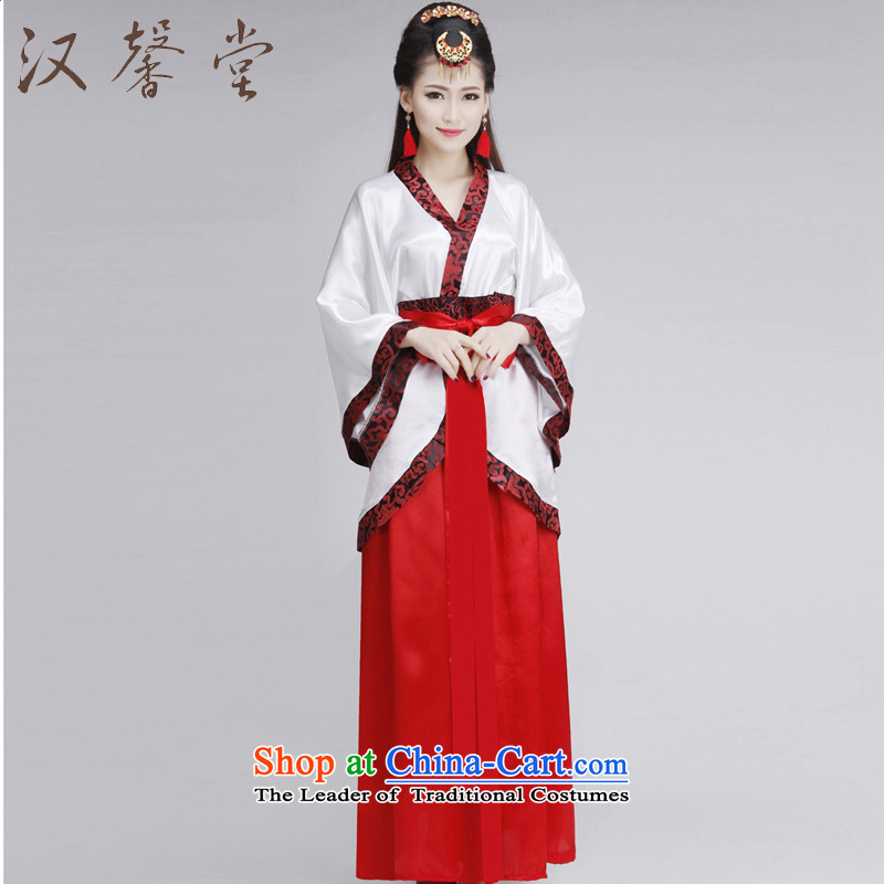 Han Xin Tong ancient ethnic women's dresses improved Han-track civil women L