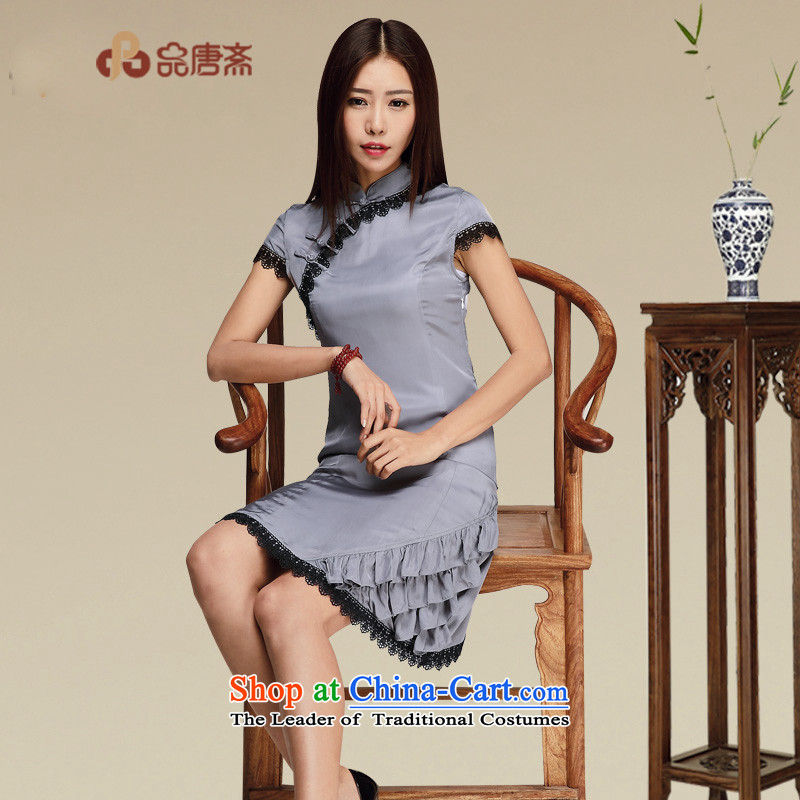 No. of Ramadan improved qipao in short skirts and stylish art nouveau style qipao skirts Ms. picture color L